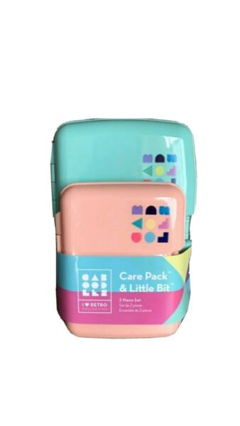 Caboodle Carepack Set 2 pc travel personal care caboodles New USA