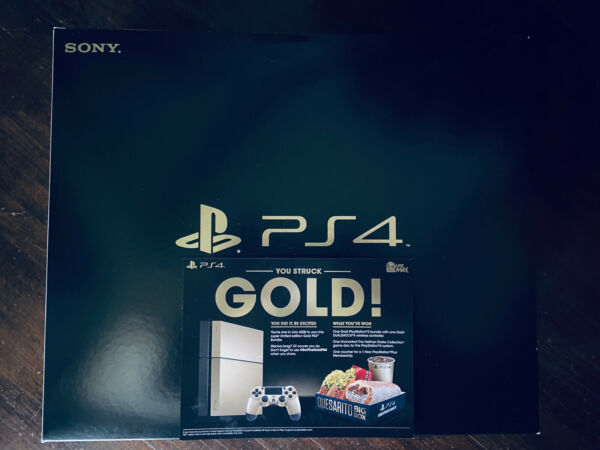 BRAND NEW Playstation 4 System Taco Bell GOLD Edition Console SEALED $999.00