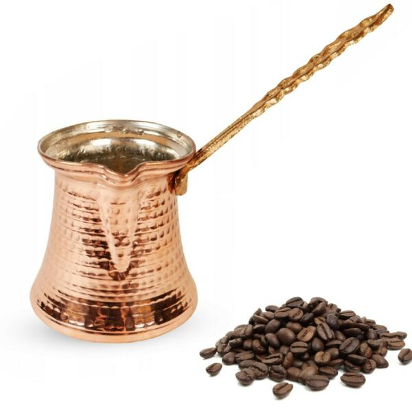 Hammered Copper Turkish Coffee Pot Arabic Stovetop Coffee Maker Copper Cezve