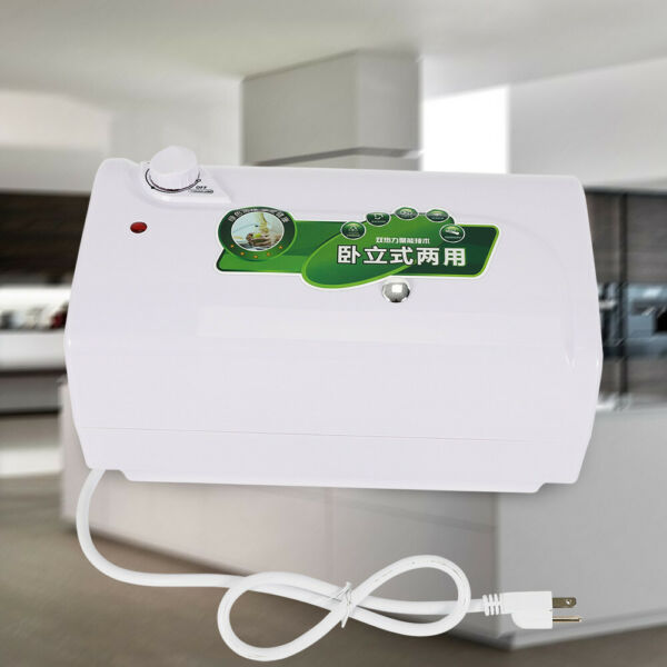 6L Mini Hot Water Heater Electric Tank Water Heating 1500W 30℃ 75℃ $75.00