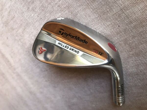 NEW TaylorMade Milled Grind Chrome 56.12 56 Degree SW RH Tour Issue Head Only