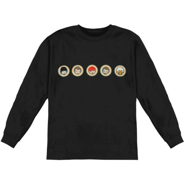 Limp Bizkit Men#x27;s Portholes Long Sleeve Black