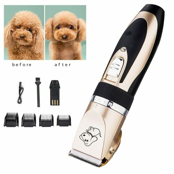 Professional Electric Dog Haircut Machine Trimmer Grooming Hair Cut For Dog Cat $39.95