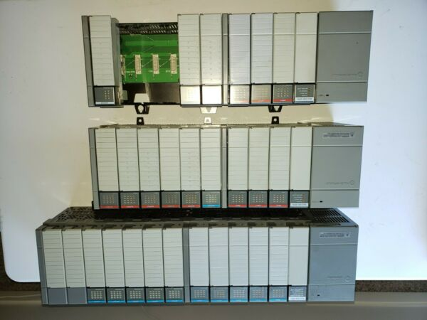 Allen Bradley SLC 500 PLC 3 Rack LOT $350.00