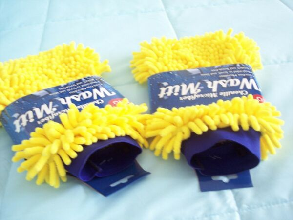 Chenille Microfiber Car Wash Mitt NWT Auto Care $4.99