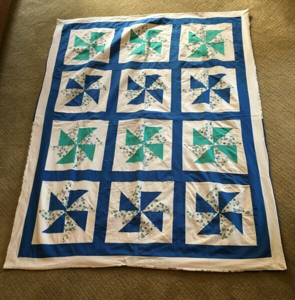 Extra Large Lap Quilt Machine Quilted 46