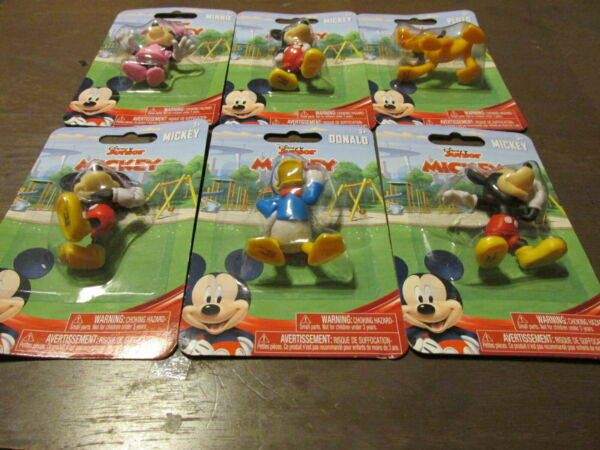 Disney Junior Mickey Mouse Collectible figures set of 6 NEW