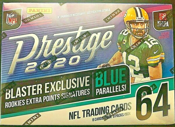 2020 Panini Prestige Football Blaster Box Joe Burrow Tua rookie auto?? prizm