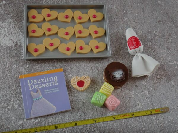 AMERICAN GIRL Retired Mixed Lot BAKING  DESSERT Accessories for Dolls