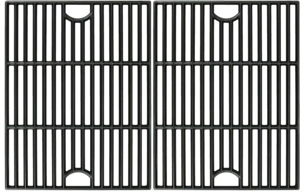 """Avenger 17"""" Polished Porcelain Coated Cast Iron Grill Grates Replacement"""