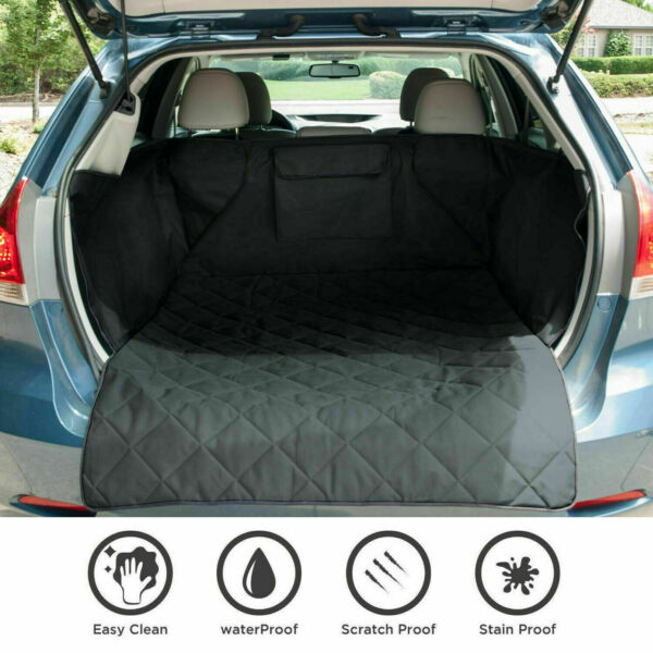 Waterproof Pet Dog SUV Car Seat Cover Truck Cargo Liner Protect Mat Universal $11.92