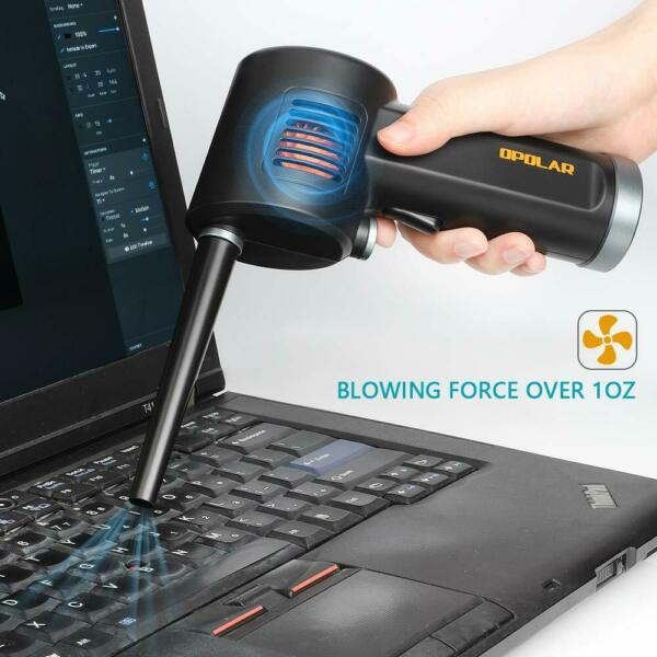 Rechargeable BlowerCordless AIR Duster Clean ComputerKeyboard and Electronics