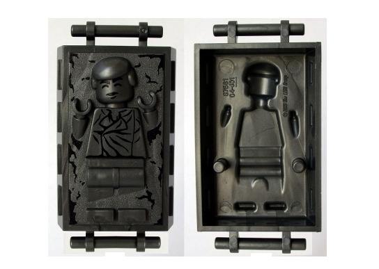 Lego Han Solo 75222 75060 Carbonite Block with Handles Star Wars Minifigure $14.95