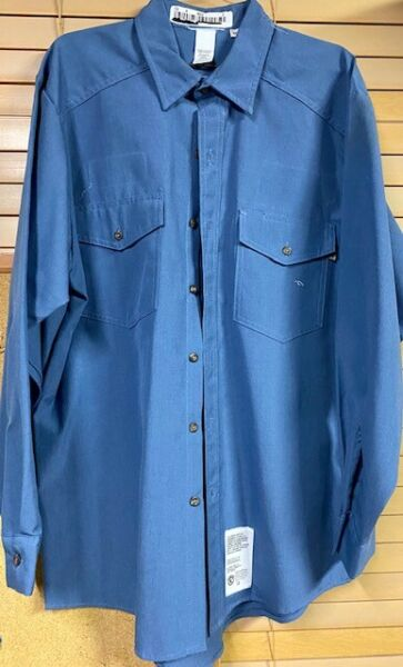 Lightweight Work Shirts Nomex IIIA FR Flame Resistant Arc rated Light Blue S 5XL $22.95
