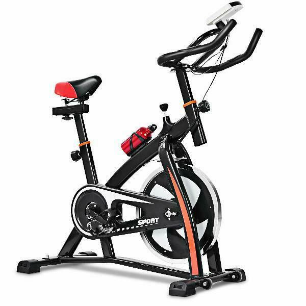 Exercise Bicycle Indoor Bike Cycling Cardio Adjustable Gym Workout Fitness Home $294.39