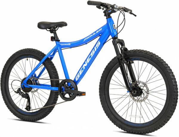 24quot; Mountain Bike Kids Boys Adults Bicycle 24 Inch MTB Cycling Wheels 4#x27;6quot; 5#x27;8quot; $217.96