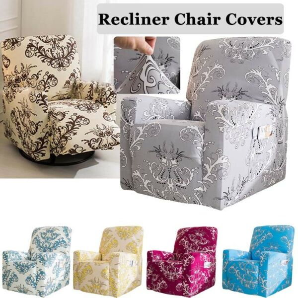 1 PC Recliner Cover Stretch Recliner Slipcover Couch Cover Chair Cover Protector $27.08