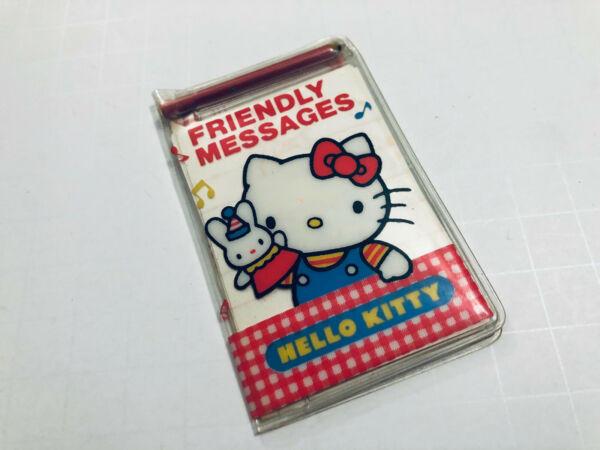 Sanrio vintage 1976 86 Hello Kitty Friendly Message Mini Letters Stationary set