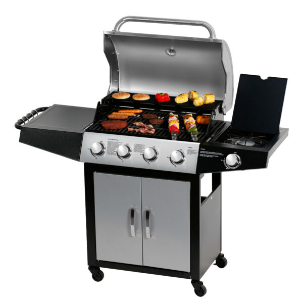 41 Burner Backyard Patio Stainless Steel Outdoor Cooking BBQ Gas Grill
