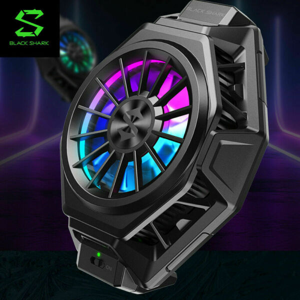 Black Shark FunCooler Fan Cooler Smart Adjustable and Portable for IOS Android $39.99