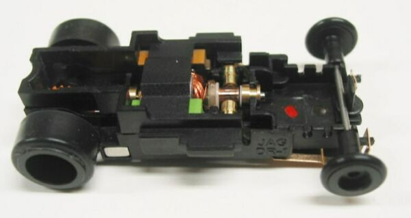 JAG Hobbies DR 1 GT In line Rolling Slot Car Chassis 4 Gear Replacement