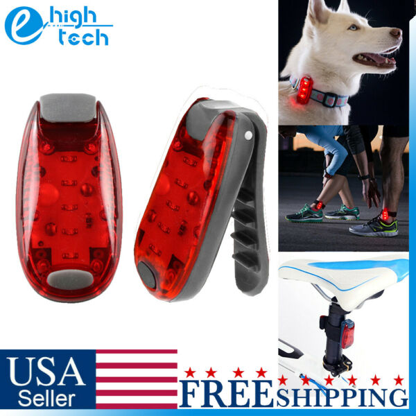 5 LED Clip on Bike Tail Light Waterproof Safety Warning Bicycle Rear Lamp 3 Mode $5.99