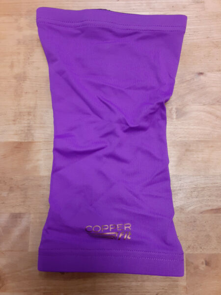 Copper Fit quot;Live Limitlessquot; Knee Support Sleeve in Purple Size Large