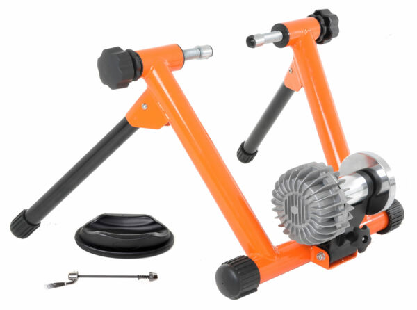Fluid Bike Trainer Conquer Smooth Fluid Resistance Indoor Exercise Bicycle Stand $149.95