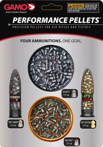 GAMO Performance Pellets Combo Pack .177 Cal Multiple Styles 632092854 $23.13