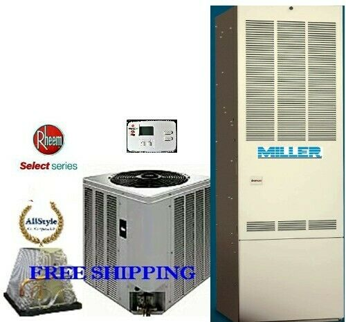 4 Ton R 410A 14SEER Mobile Home Gas Heating System Condenser G Furnace Coil $2869.00