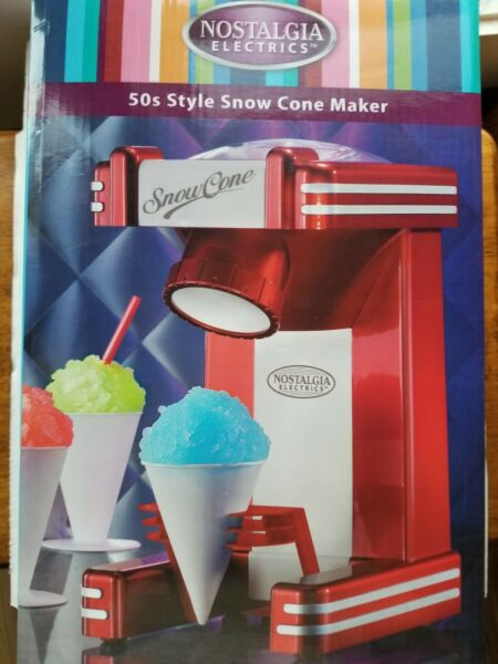 Nostalgia Retro Single Snow Cone Maker