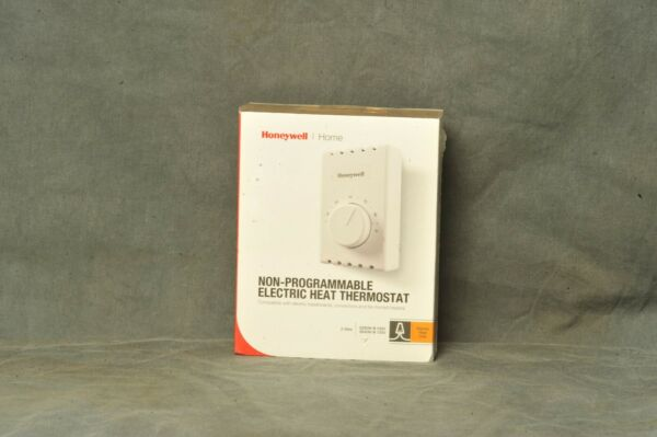Honeywell Non Programmable Electric Heat Thermostat 2 wire Electric Heat Only $13.99