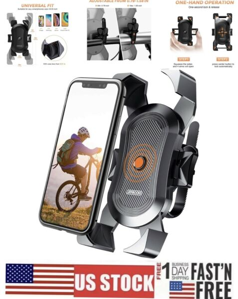 Bicycle Phone Holder Bike Mount for Road Bike and Motorcycle $9.99