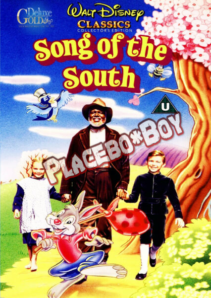 """""""Song of the South"""" Special Edition DVD with Menu and extras New and Sealed NTSC"""
