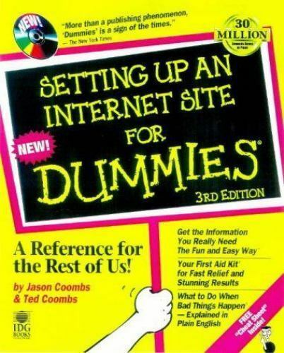 Setting Up an Internet Site for Dummies