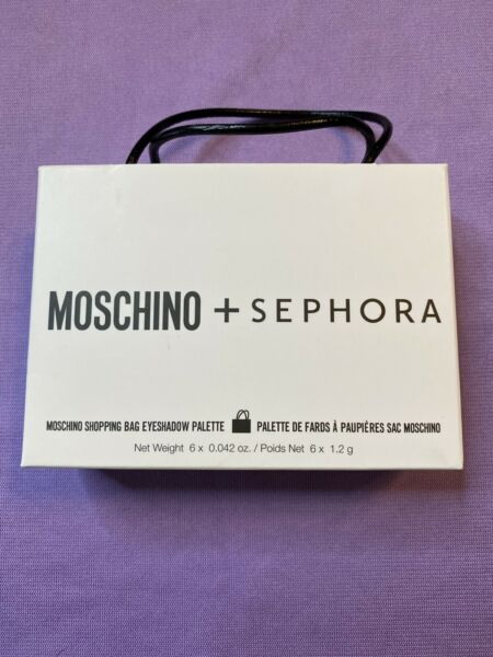 Moschino Sephora Shopping Bag Eyeshadow Palette Limited Edition New In Box $26.99