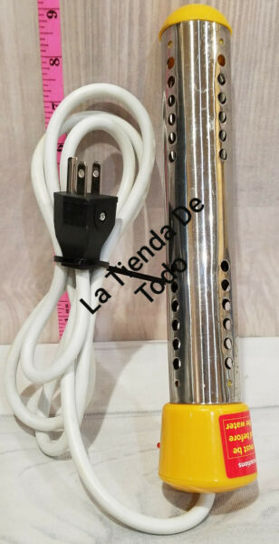 SUBMERSIBLE IMMERSION WATER HEATER STAINLESS STEEL PORTABLE TUB JACUZZY READ $20.00