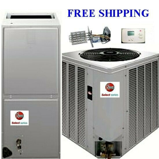 3 Ton R 410A 14SEER Complete Heat Pump System Condenser Air Handler with Coil $2289.00