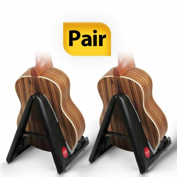 Pack of 2 Portable Stand for Acoustic and Classical Guitars by Hola Music $24.95