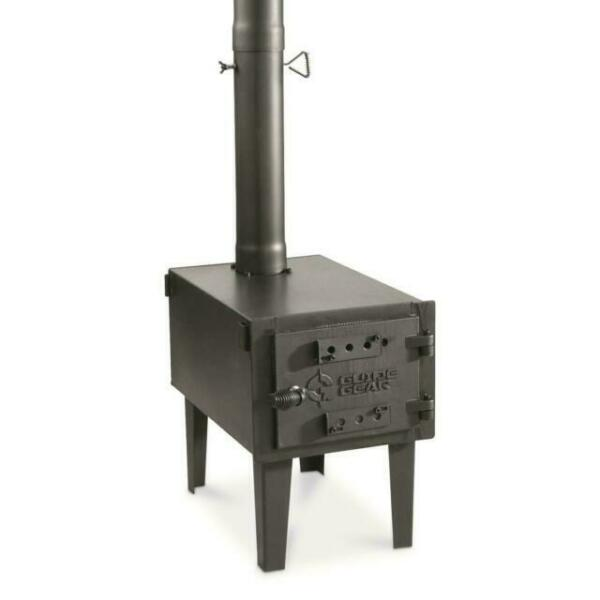 Guide Gear Outdoor Wood Stove tough galvanized steel $104.99