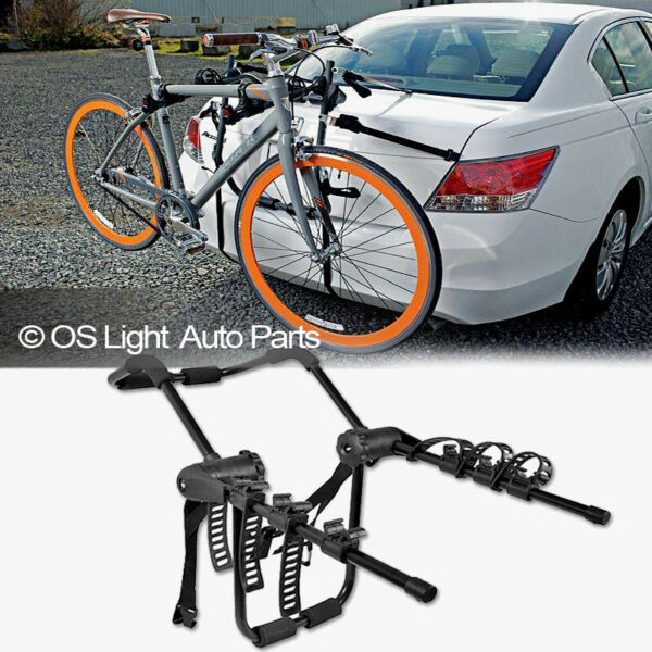 Bike Rack Carrier Trunk Mount 3 Bicycle Holder Cross Bar Attachment For Honda $73.49