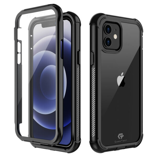 For iPhone 12 Mini 12 Pro Max Case Cover Shockproof Waterproof Screen Protector $15.98
