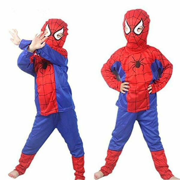 Spiderman Costumes For Kid Halloween $12.99