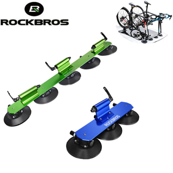 ROCKBROS Bike Car Racks Carrier Quick Install Tool Bicycle Rack Suction Roof Top $142.99