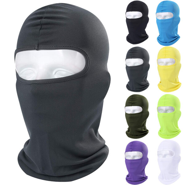 Motorcycle Cycling Bike Riding Balaclava Full Face Mask Outdoor Tactical Hood $6.99