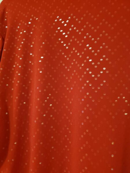 Bons Worth Womens Red Sequined Top large $9.00