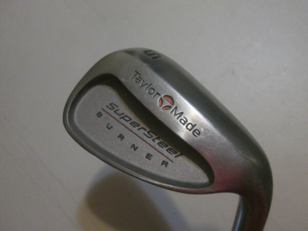 TaylorMade Super Steel Burner Sand Wedge RH R 80 Bubble Shaft And Grip 37 1 4quot;