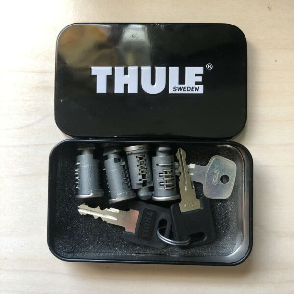 Thule Lock and Key Set of 4 Core Cylinders $35.00