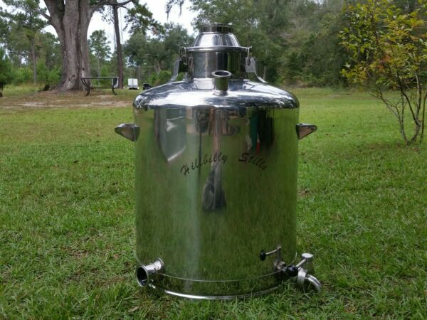 Hillbilly Stills 26 Gallon Stainless Steel Boiler $300.00