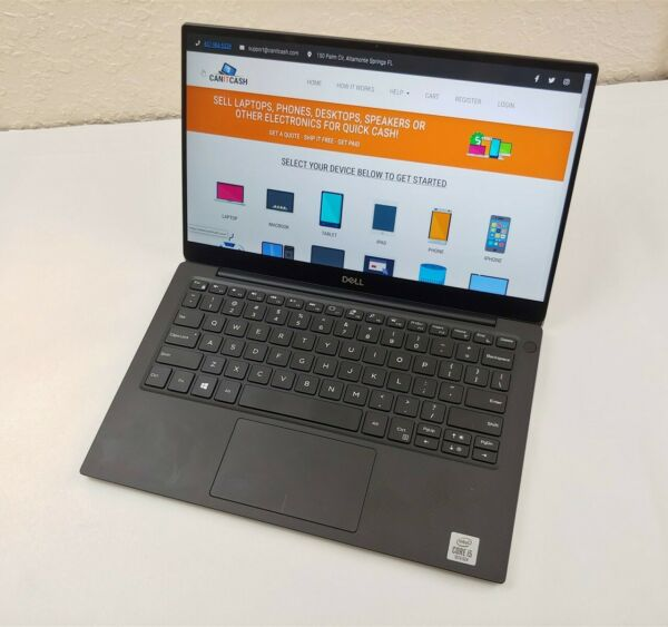 Dell XPS 13 7390 i5 10210U 1.60GHz 8GB RAM 256GB SSD 13.3quot; 4K UHD Touch W10H